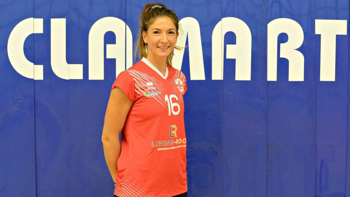 DEF : Noémie Clavreul, une valeur sûre au Clamart Volley Ball.