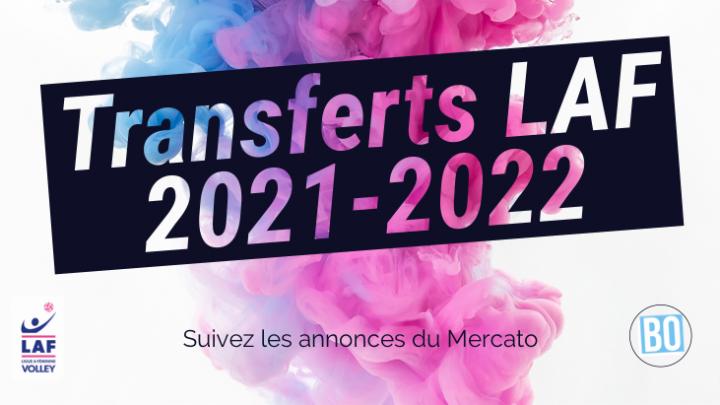 Transferts LAF 2021-2022