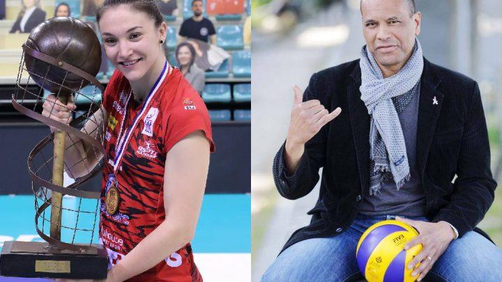 Interview croisée de 2 Champions : Laurent Chambertin et Héléna Cazaute